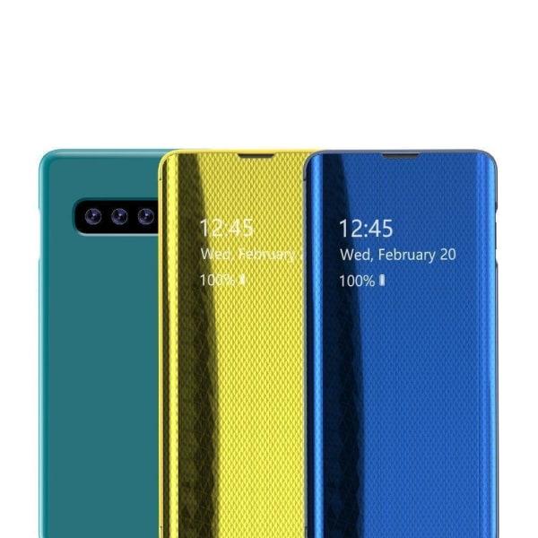 Samsung Galaxy A41 Smart View Fodral - Guld Guld
