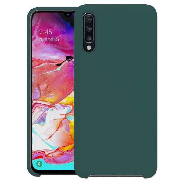 Samsung Galaxy A50 Silicone Case - Army Green Grön
