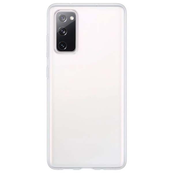 Samsung Galaxy S20 FE Silikonskal - Ultra Slim Skal Transparent