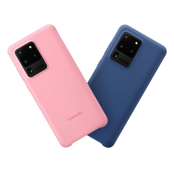 Samsung Galaxy S20 Ultra - Silicone Cover - Blå Blå