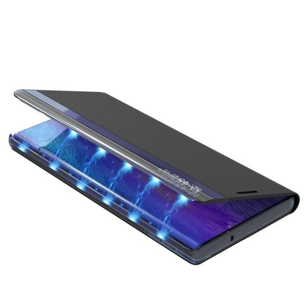 Samsung Galaxy S21 Plus Smart View Flip Cover Fodral - Blå Blå