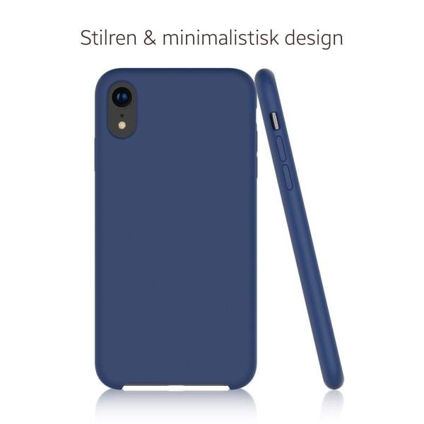 Samsung Galaxy S21 Silicone Cover Svart Silikonskal Svart