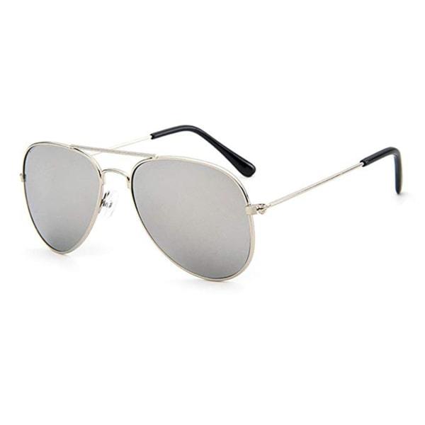 Solglasögon Barn Pilot med UV skydd - Vit