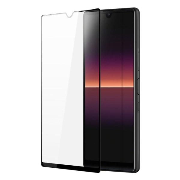 Sony Xperia L4 Skärmskydd Heltäckande Härdat Glas Transparent