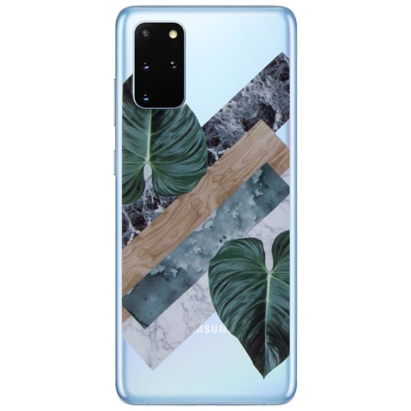 uSync™Samsung Galaxy S20 Ultra Skal - Design Case Plants Transparent