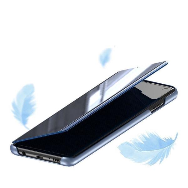 Xiaomi Mi 10T 5G/10T Pro Smart View Cover Fodral - Blå Blå