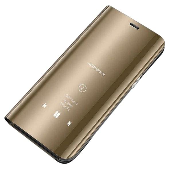 Xiaomi Redmi 9A Smart View Cover Fodral - Guld Guld