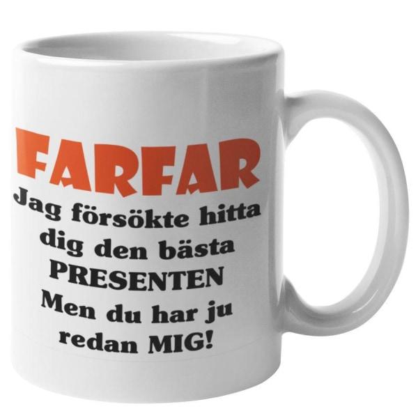 Mugg - Farfar presenten