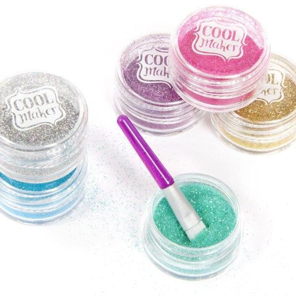 Cool Maker Go Glam Glitter Nails multifärg