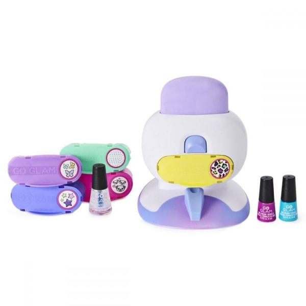 Cool Maker Go Glam Deluxe Nail Stamper multifärg