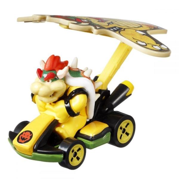 Hot Wheels Mario Kart Glider Bowser multifärg