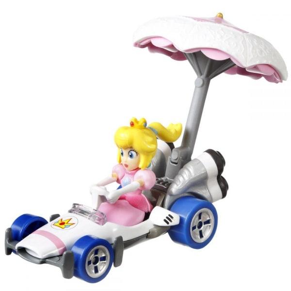 Hot Wheels Mario Kart Glider Prinsess Peach multifärg