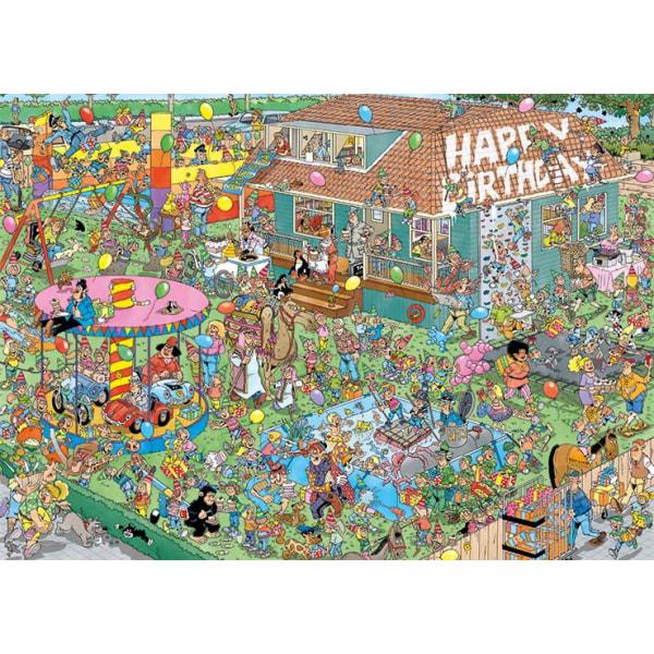 Jan Van Haasteren Childrens Birthday Party Pussel 1000 bitar 200