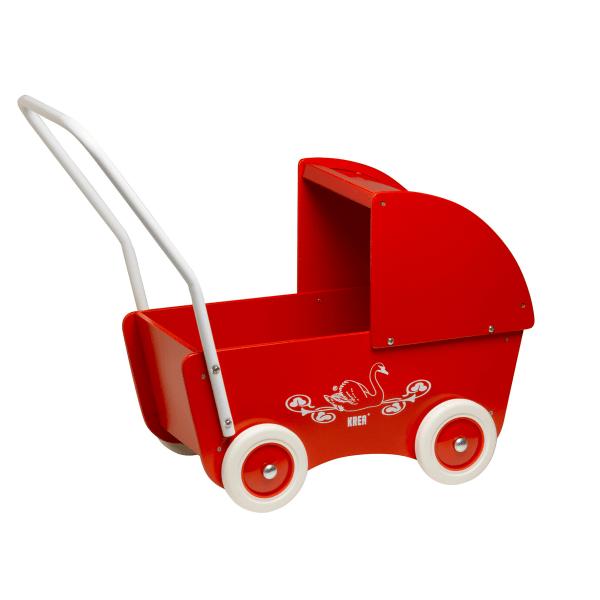 Krea Dockvagn i trä multifärg