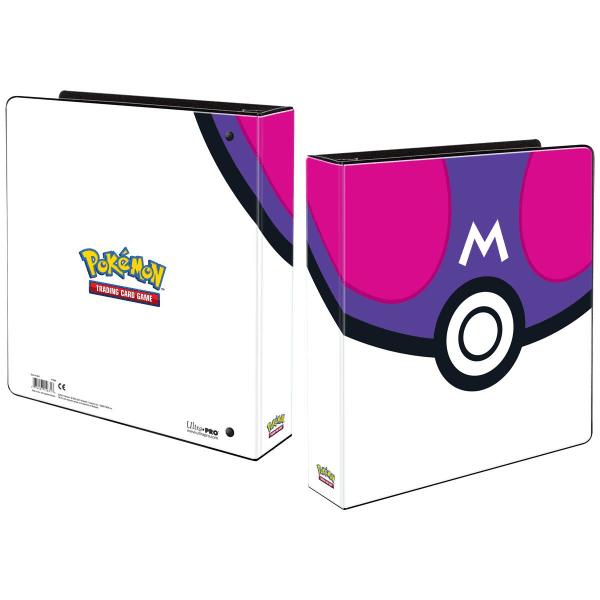 Pokemon Album Master Ball inkl 25 plastfickor