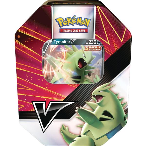 Pokemon Tin V Strikers Tyranitar