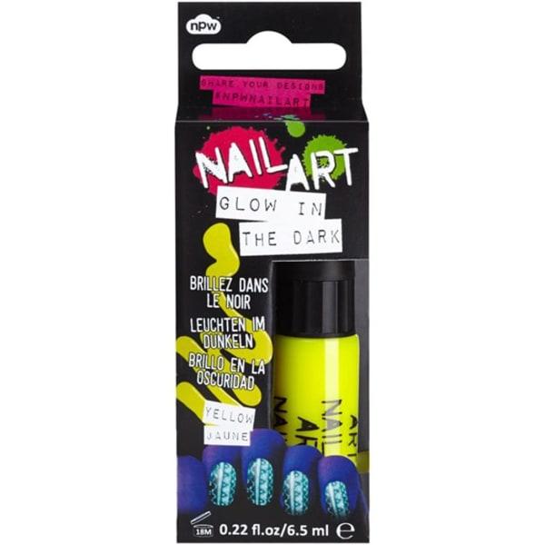 Slälvlysande nagellack GUL