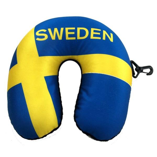 DUGA Nakkepude Mikrofiber Sverige Sverige Black