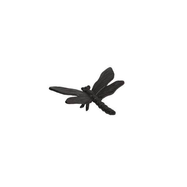 Dragonfly støbejerns dekorationsvæg Brown