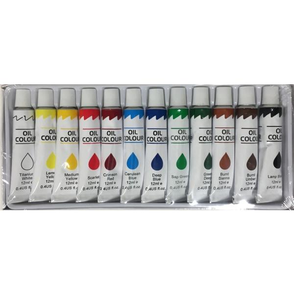 Oljefärg multifärg