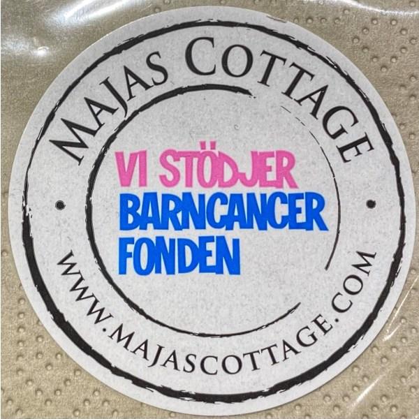 Majas Lyktor Cottage Majas hytte servietter hjerte og hyggeligt White