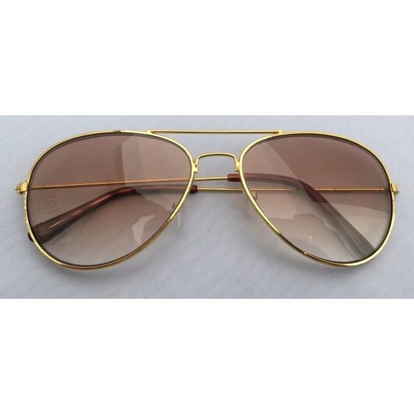 Sol/Läsglasögon Pilot +2.00 Duga Guld Guld