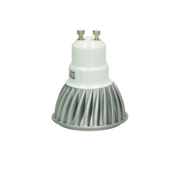 ECD Germany 8-pack 6W GU10 LED spot ersatt - 30W halogen -