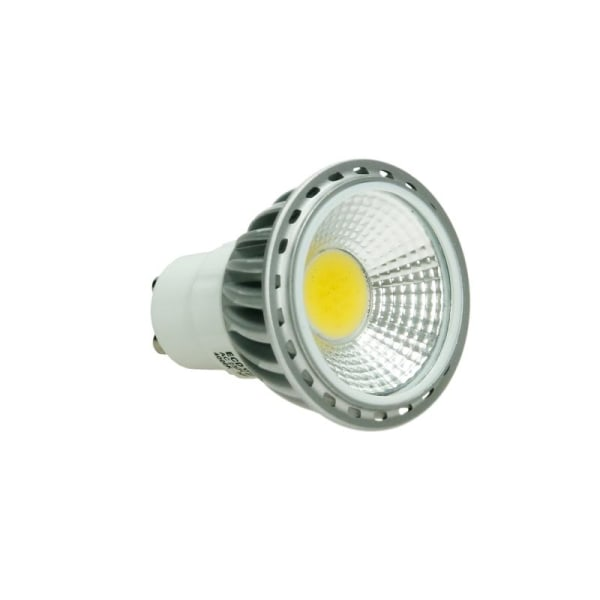 5 x LED-spot GU10 COB, varmvit, 6W