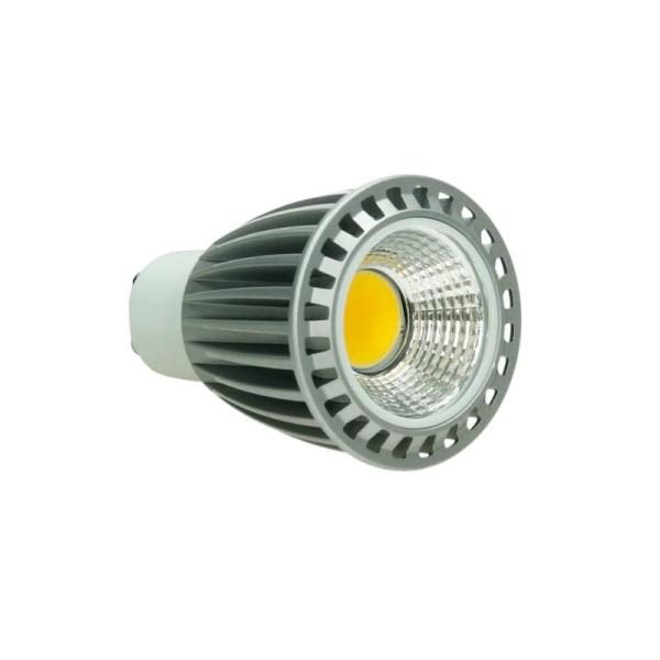 6 x LED COB GU10 spotlight glödlampa lampor infällda spotlights