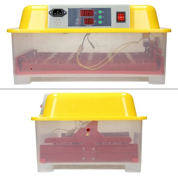 ECD-Germany Helt automatisk inkubator i 24 kycklingägg, Gul