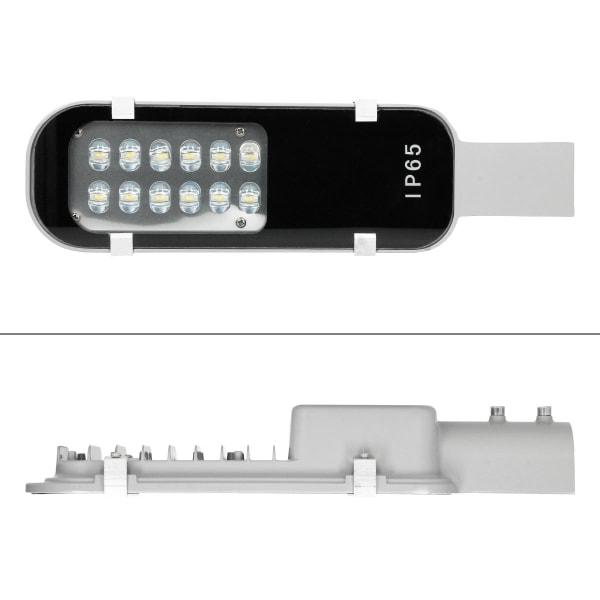 Set med 10 LED-gatlykta gatubelysning gatlykta 12W IP65 utomhus