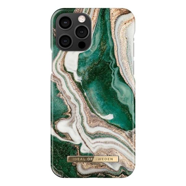 iDeal Fashion Case skal, iPhone 12/12 Pro, Golden Jade Marble