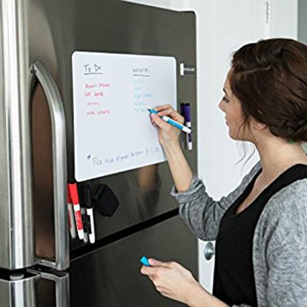 Vinyl whiteboard klistermärke A4 till kylskåp eller väggen