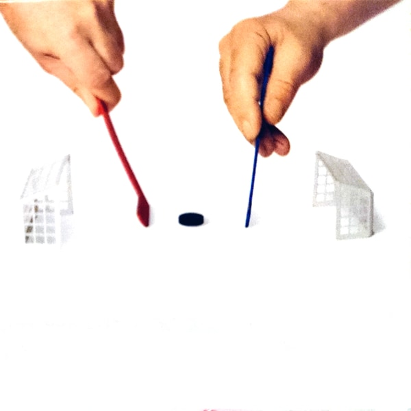 Mini fingrar hockey för skrivbordet