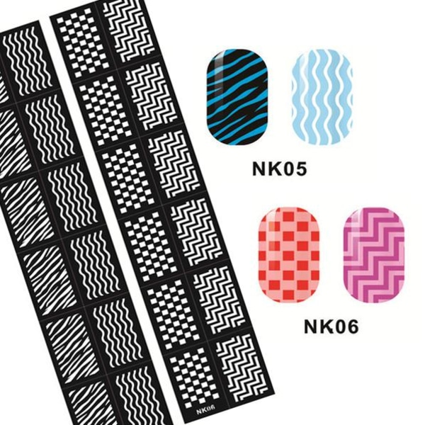 Nagelmallar - olika designs