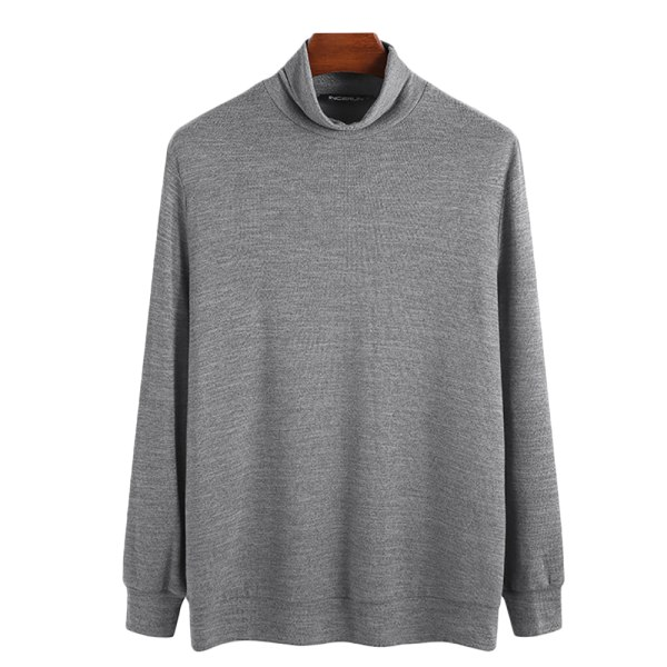 JOYSON Turtleneck sweater men grå L
