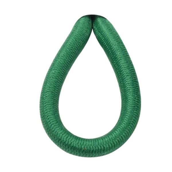 5 meter elastisk anorakledning 3 mm grøn
