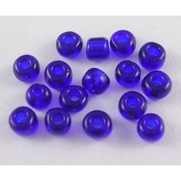 320 kpl sininen / kobolttilasihelmiä 6/0 siemenhelmiä 30g