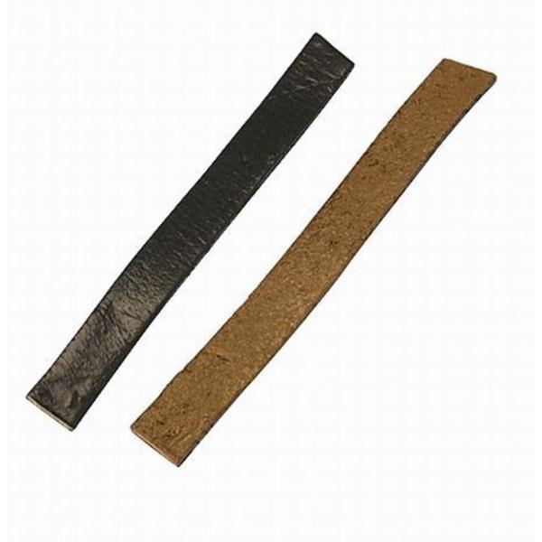 Läderrem Brun 10x2 mm 30 cm Läder rem