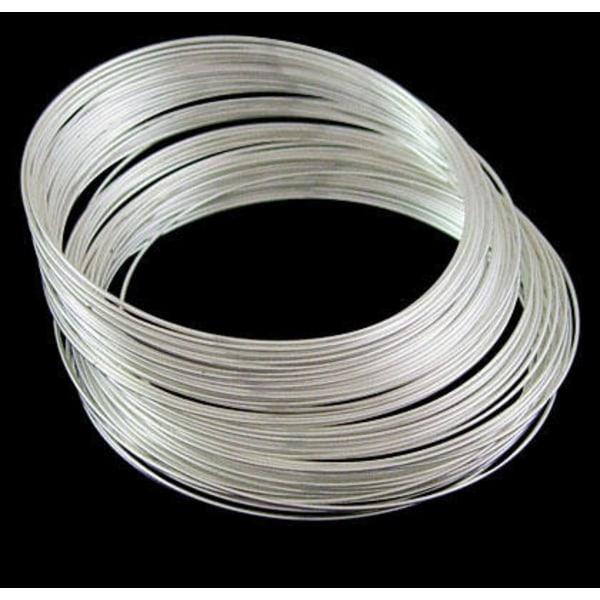 Memory wire 10 varv till armband 5.5cm