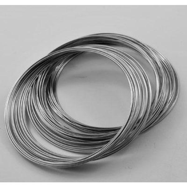 Memory wire 30 varv till armband 5.5cm
