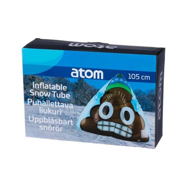Atom Outdoors Upplåsbar Snow tube Bajsemoji 105 cm multifärg