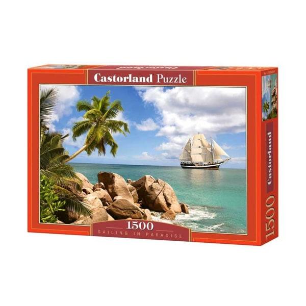 Castorland Segla i Paradiset 1500 Bitars Pussel multifärg