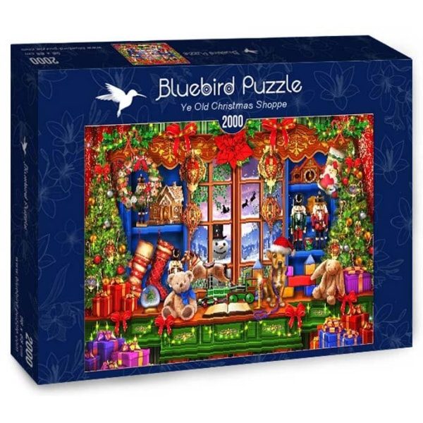 Bluebird Pussel - Ye Old Christmas Shoppe 2000 bitar multifärg