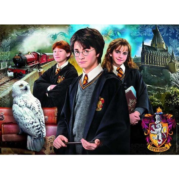 Clementoni Pussel Portfölj - Harry Potter 1000 Bitar multifärg