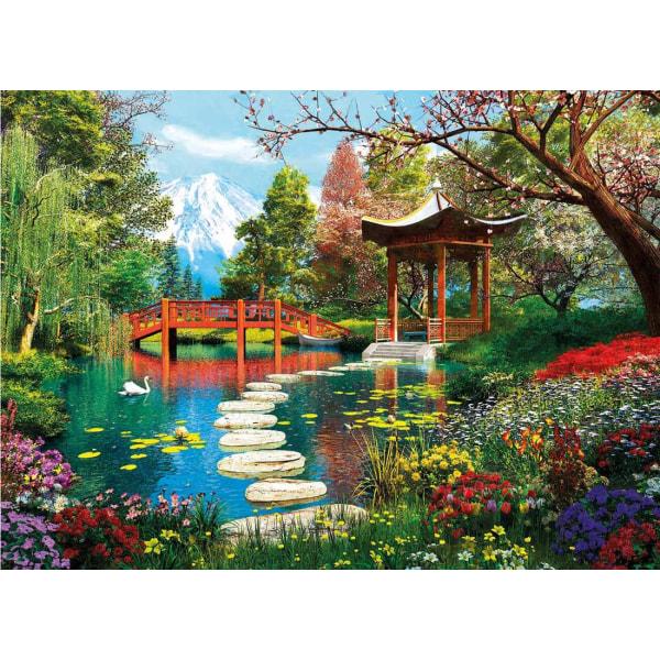 Clementoni Pussel - Fuji Trädgård 1000 bitar multifärg