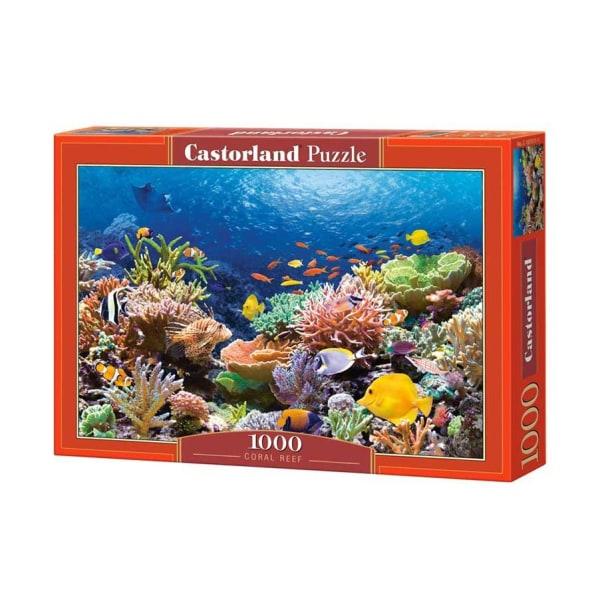 Castorland Fiskar vid Korallrev 1000 Bitars Pussel multifärg