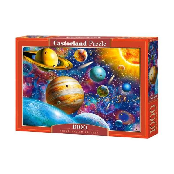 Castorland Pussel - Solsystemet Odyssey, 1000 Bitar multifärg
