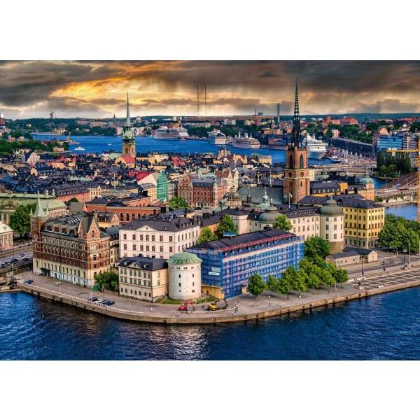 Ravensburger Pussel - I Skandinavien: Stockholm 1000 bitar multifärg