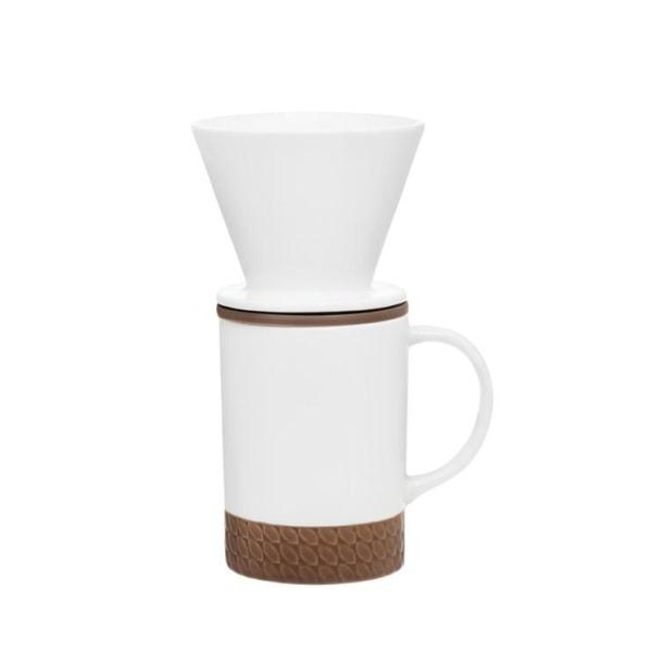 Maku Cup och filteruppsättning 400 ml Vit
